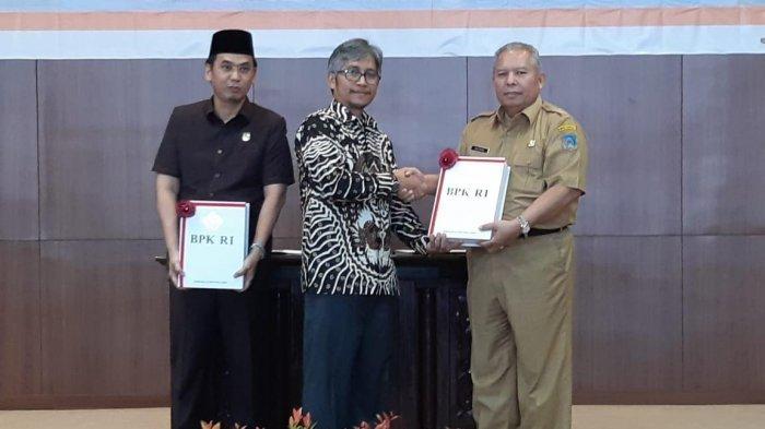 Pemkab Tanjung Jabung Barat Raih WTP dari BPK RI Perwakilan Jambi, Safrial Sebut WTP Bukan Segalanya