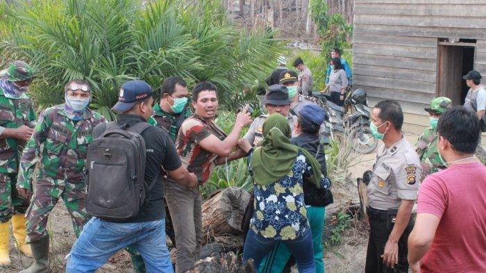 Penangkapan Para Pelaku Perambahan & Pembakaran Hutan di PT REKI, Ini Penjelasan Kapolres Batanghari