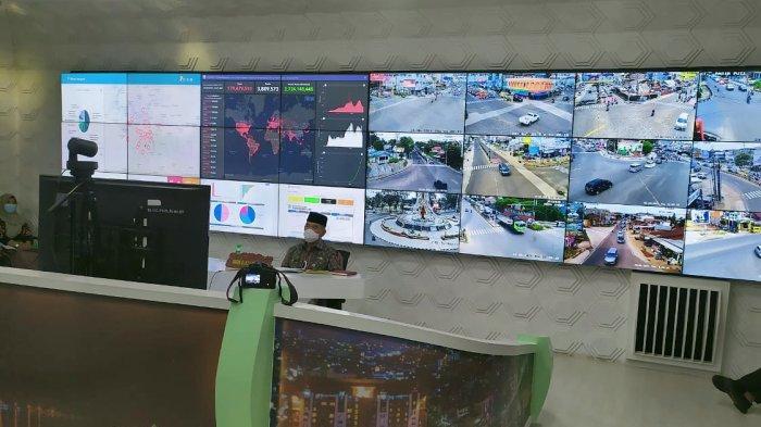 Pemkot Jambi Sampaikan Kerjasama Internasionalnya ke Pusat Saat Zoom Meeting