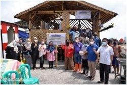 Bangunan Bambu Diresmikan, Puncak Kegiatan Pengabdian dan Pemberdayaan Masyarakat