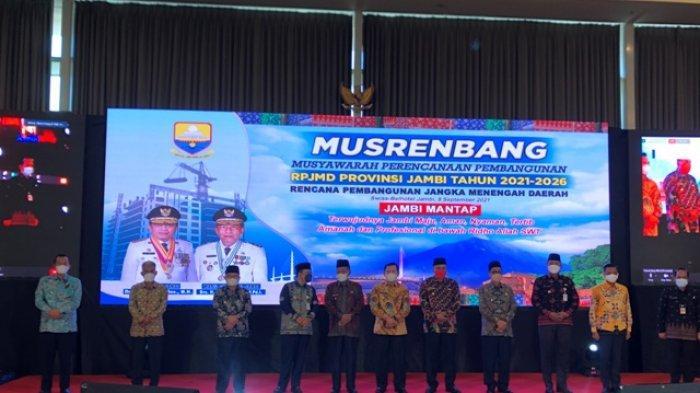 Pemprov Jambi Gelar Musrenbang Dalam Rangka Penyusunan RPJMD 2021-2026