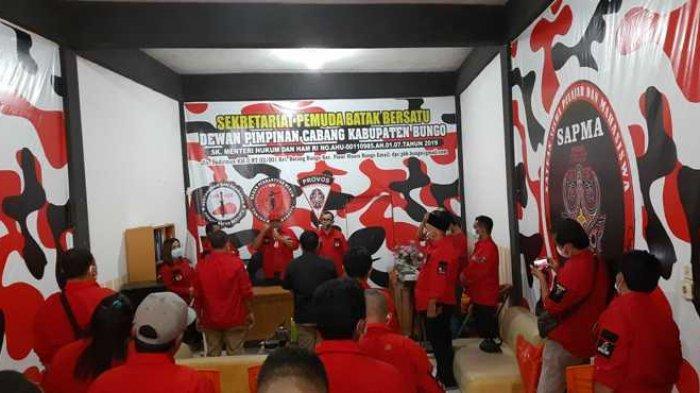 Bawa Misi Sosial, Pemuda Batak Bersatu Kabupaten Bungo Dibentuk dan Dikukuhkan