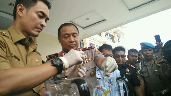 BREAKING NEWS & FOTO: Sabu 4,4 Kg Dimusnahkan