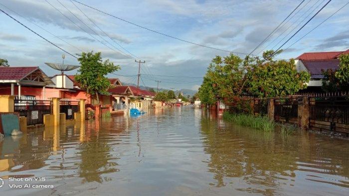 Banjir Kembali Melanda Kerinci, Puluhan Rumah di Lubuk Suli Terendam, Warga Harap Ada Solusi