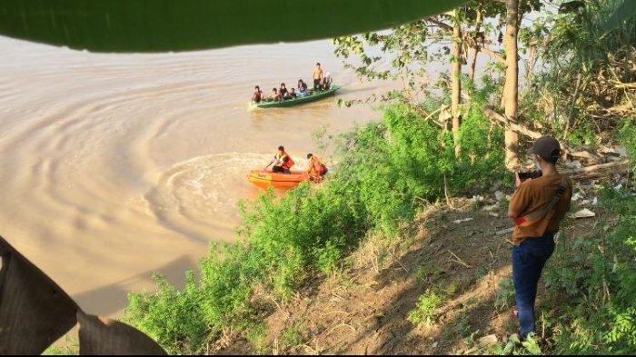 BREAKING NEWS Bocah 4 Tahun Tenggelam di Sungai Batanghari, Diduga Sedang Bermain, Belum Ditemukan