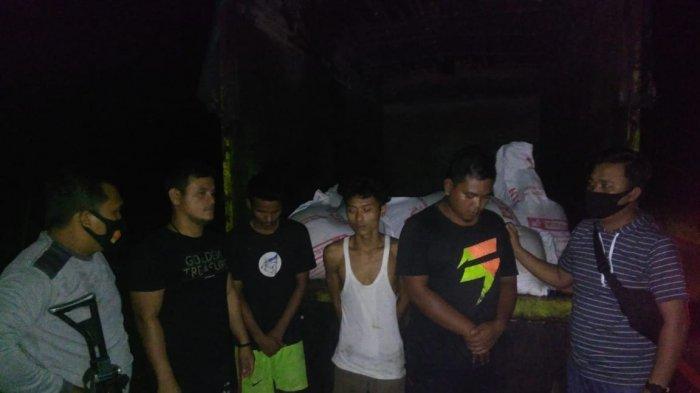 Tiga Pencuri Pakan Ayam di Limbur Tembesi Ditangkap Polisi, Pelaku Beraki Malam Hari