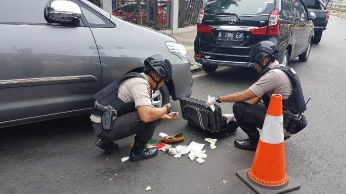 Suara Ledakan hingga Masjid Istiqlal, Ledakan di Dekat Hotel Sriwijaya Jakarta Pusat
