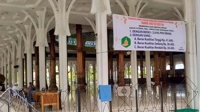 Tahun Ini Pengumpulan Zakat Mal di Masjid Agung Al-Falah Jambi Turun Drastis