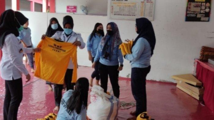 Penertiban Pakaian, Warga Binaan di Lapas Perempuan Muarojambi Diberikan Seragam Baru