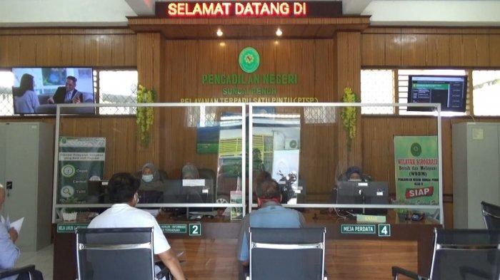 Kasus Narkotika Mendominasi Sidang di Pegadilan Negeri Sungai Penuh