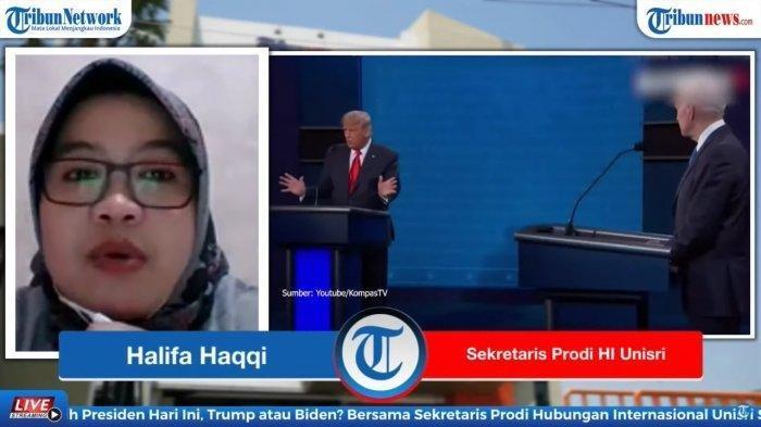 Sekretaris Program Studi Hubungan Internasional Unisri Surakarta, Halifa Haqiqi.