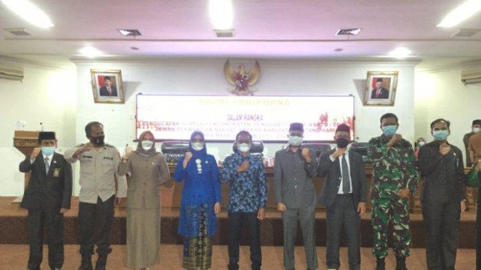 Masyarakat Keluhkan Listrik dan Jalan,Febri Resmi Dilantik Jadi Anggota DPRD Batanghari