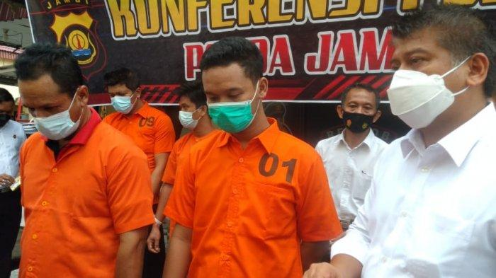 Ayah dan Anak Asal Jaluko Bikin Basecamp Edarkan Sabu, Punya Senpi dan Modifikasi Motor Polisi