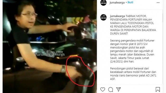 Pengemudi Fortuner Koboi Punya KTA Ilegal Mirip Zakiah Aini, Pelaku Diamankan Polisi di Parkiran Mal