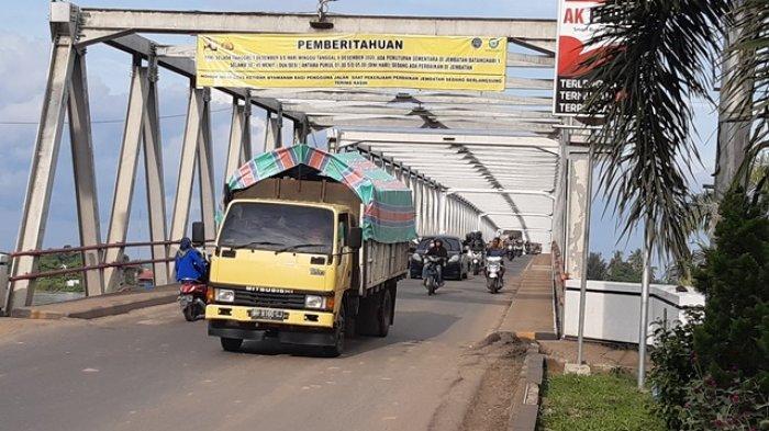 Pekerjaan Jembatan Batanghari I Mulai Besok, Tak Jadi Buka Tutup, Hanya Pembatasan Kendaraan