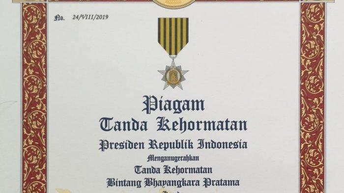 Terima Penghargaan dari Jokowi, Kapolda Ucap Terima Kasih kepada Masyarakat Jambi dan Anggota