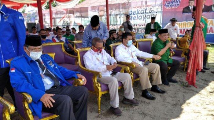 Pilkada di Jambi: Pengurus Partai Pengusung Sudah Kumpul di Posko Rumah Perjuangan Rakyat FU-SN
