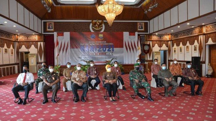 Pj. Gubernur Nyatakan Komitmen Perangi Narkoba di Provinsi Jambi
