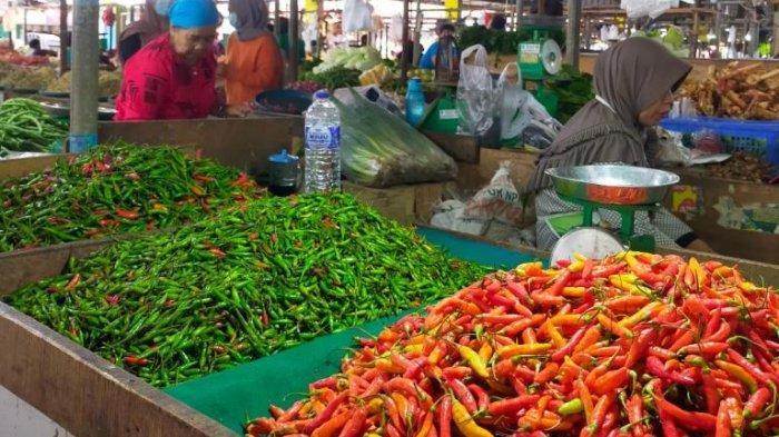 Update Harga Sembako Tiga Pasar Besar di Kota Jambi Harga Cabai Merah Turun Lagi