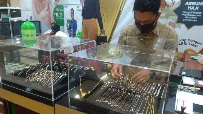 Bazar Emas yang diadakan Pegadaian Jambi