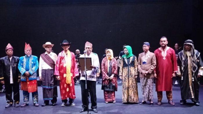 16 Etnis Tampil di Pentas Seni Nusantara, di Taman Budaya Jambi, 18-24 Maret 2019,Ini Jadwalnya