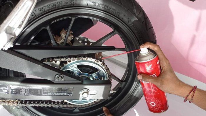 Tips Penting Buat Bikers, Begini Cara Rawat Rantai Roda Sepeda Motor