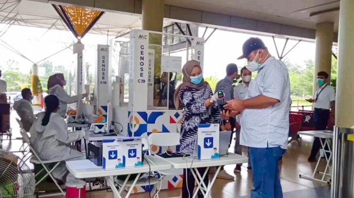 Penumpang Bandara Sultan Thaha Jambi Sambut Baik Penerapan GeNose C19