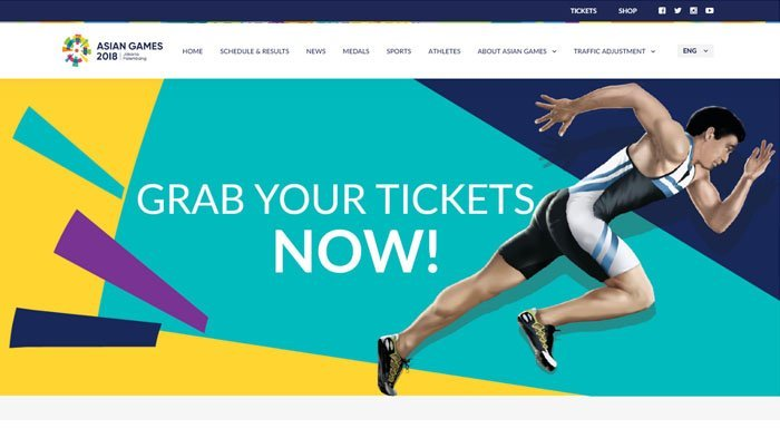 Link Pembelian Online Tiket Penutupan Asian Games 2018, Dua Hari Dibuka Langsung Ludes Terjual
