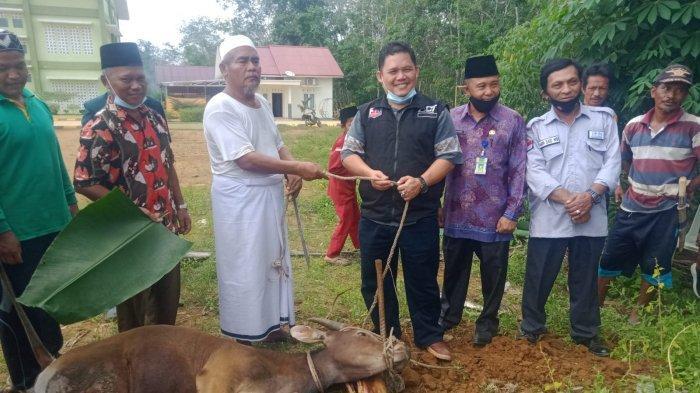 ACT Bersama DPD JOIN Tebo Bagikan Hewan Kurban Untuk Ponpes Darul Hikam Rimbo Ulu