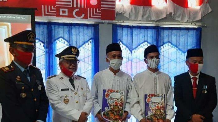 101 Napi Rutan Kelas IIB Sungai Penuh Dapat Remisi Saat HUT Kke-75 RI