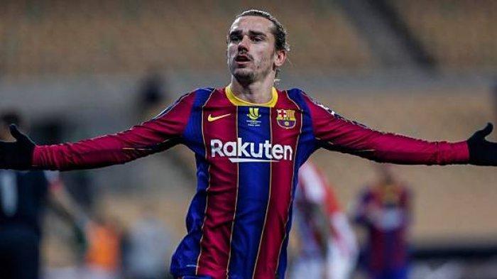 Penyerang Barcelona, Antonio Griezmann yang dipinjamkan ke Atletico Madrid