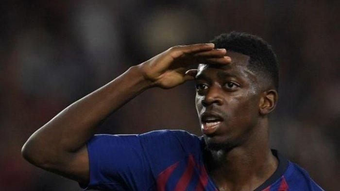 Penyerang Barcelona Ousmane Dembele Belum Teken Kontrak, Liverpool Jatuh Cinta