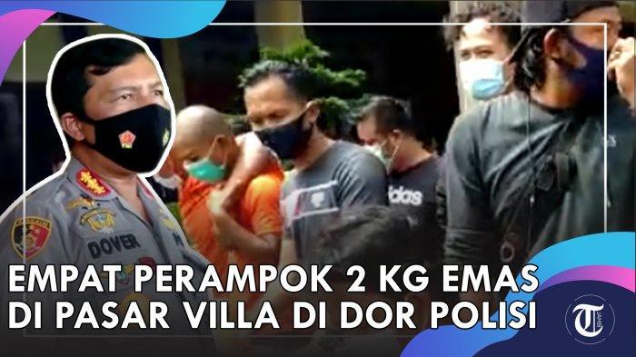 Berupaya sekira kurang lebih tiga bulan, Tim Opsnal Polresta Jambi, berhasil meringkus empat orang pelaku perampokan 2,5 kg emas senilai Rp 2 miliar, yang sempat menghebohkan warga Kota Jambi, (6/7/2020) lalu.