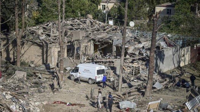UPDATE Perang Azerbaijan-Armenia, Bocah 3 Tahun Selamat dari Serangan Rudal, Satu Keluarganya Tewas