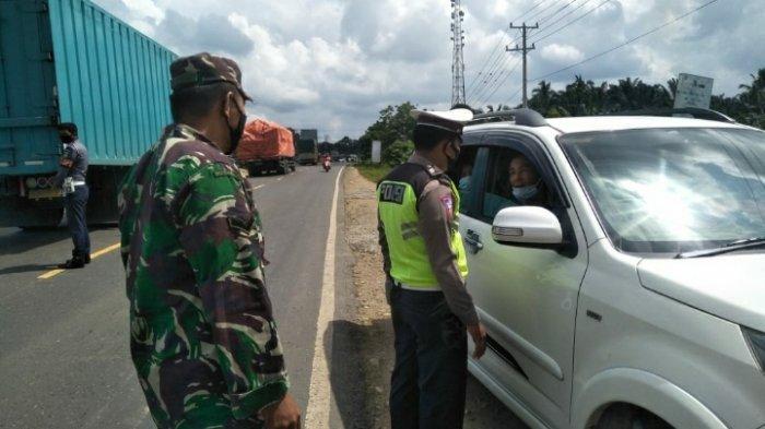 Perbatasan Jambi-Sumbar Dikawal Ketat, Keluar Masuk Dihentikan Petugas