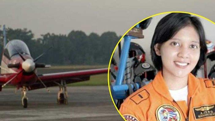Kisah Letda Ajeng Perempuan Penerbang Pesawat Tempur Pertama Sempat Stres Tak Lulus Taruna TNI AD