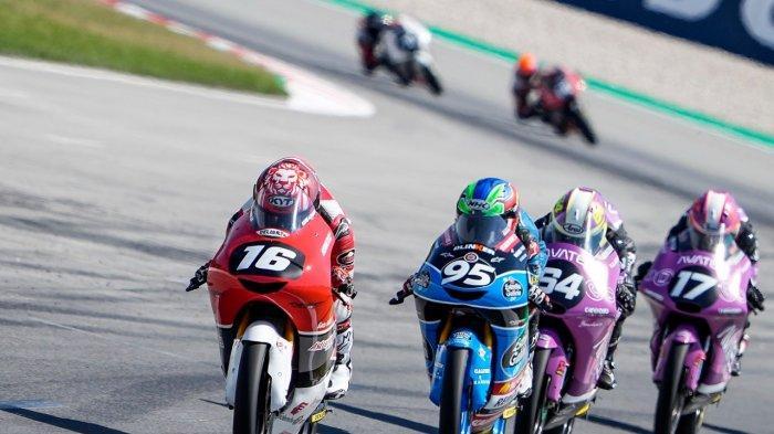 Perjuangan Mario Suryo Aji untuk membanggakan Indonesia pada FIM Moto3™? Junior World Championship terus berlanjut. Setelah mencetak sejarah sebagai pebalap pertama yang meraih pole position pada putaran Barcelona Minggu (13/6)