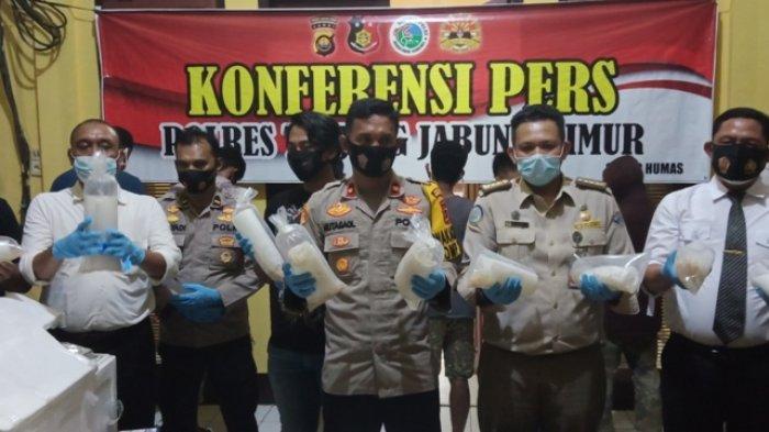 7 Kurir Benih Lobster Rp 16 Miliar di Tanjabtim Terancam Hukuman 8 Tahun Penjara