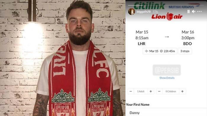 Persib Bandung Rekrut Danny Guthrie Mantan Pemain Liverpool