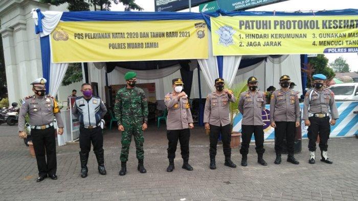 175 Personel Polres Muarojambi, Ikut Amankan Keamanan Saat Perayaan Natal dan Tahun Baru