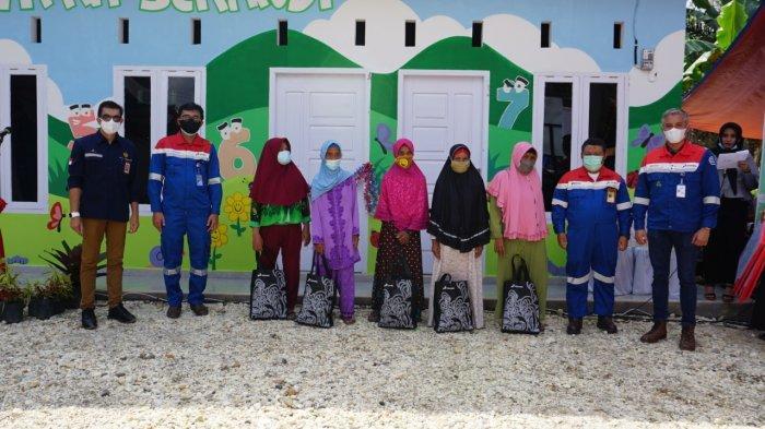 ertamina EP Asset 1 Jambi Field (PEP Jambi) menggelar peresmian bangunan Pendidikan Anak Usia Dini (PAUD) Patra Serandi