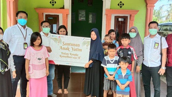 Pertamina Santuni 653 Anak Yatim di Lima Provinsi di Sumbagsel