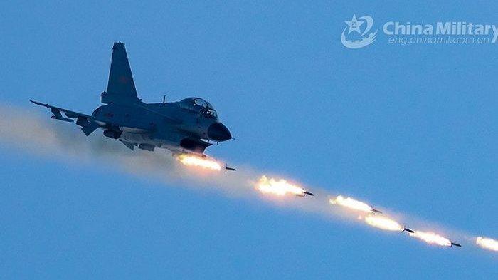 Amerika Panik, Kapal Induk AS Dibombardir Rudal Jet Tempur China, Laut China Selatan Kini Mencekam