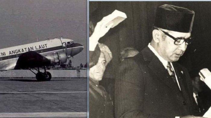 Soeharto Mau Lewat Halim, Pesawat C-47 Disuruh Putar-putar sampai Habis Bahan Bakar hingga 'Jatuh'