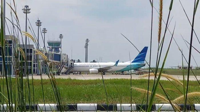 Garuda Tetap Layani Penerbangan, Satu Unit Pesawat Lion Air Terparkir di Bandara Sultan Thaha