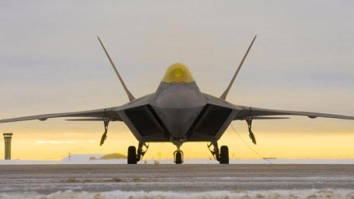 Pesawat Siluman F-22 Raptor