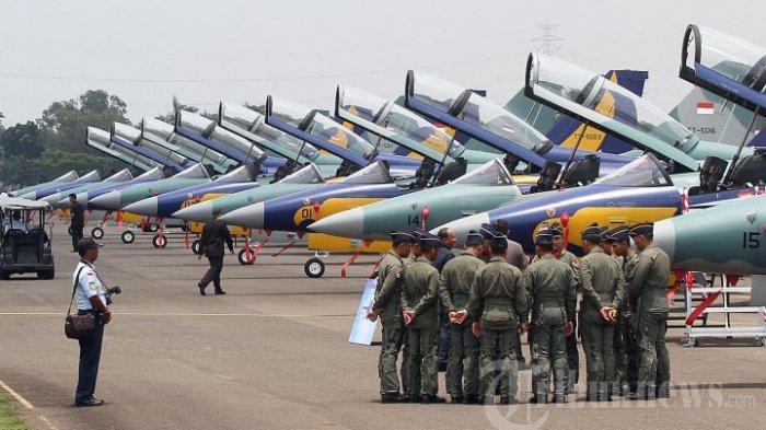Benarkah TNI AU Bangunkan Sahur Masyarakat Pakai Pesawat Tempur, Simak Penjelasannya