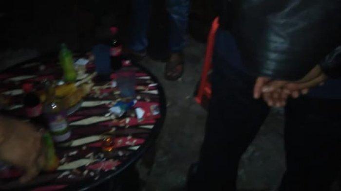 Tim Forkompinda Sarolangun Bubarkan Rombongan Pemuda yang Pesta Miras Sambil Bakar Jagung