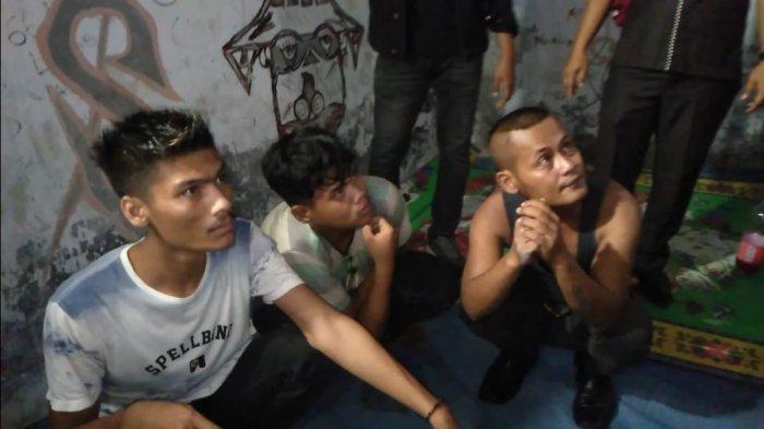 Tahun Baru 2021 Sekelompok Pemuda Pesta Ngelem di Pasar Bawah Sarolangun