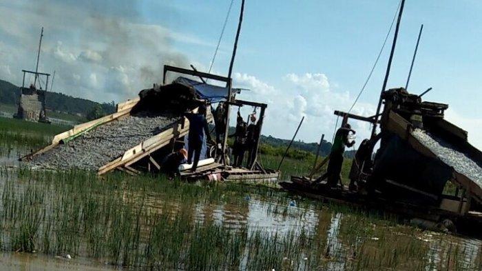 Tokoh Masyarakat Sesalkan Aktivitas PETI di Desa Sungai Ruan Ilir Sangat Merugikan Masyarakat